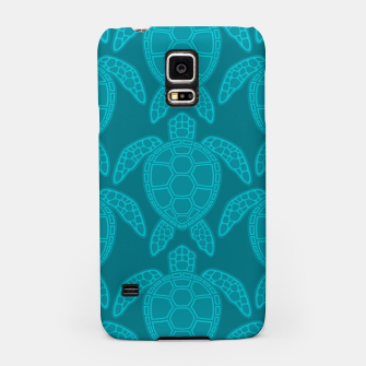 Thumbnail image of Sea Turtle Pattern Teal Samsung Case, Live Heroes