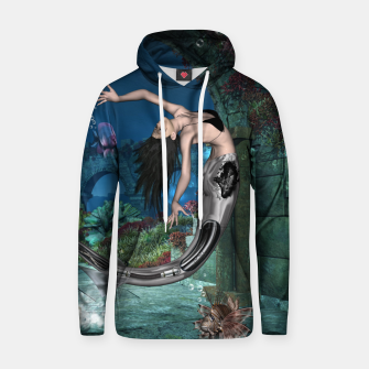 Thumbnail image of Wonderful mermaid in the deep ocean Hoodie, Live Heroes