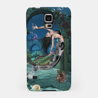 Thumbnail image of Wonderful mermaid in the deep ocean Samsung Case, Live Heroes