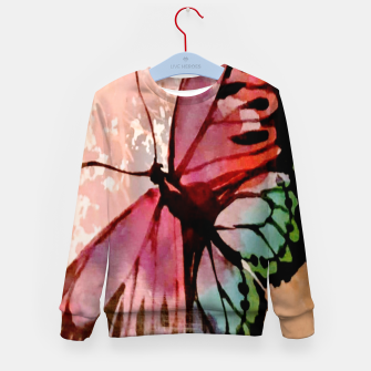 Thumbnail image of Butterfly Kid's sweater, Live Heroes