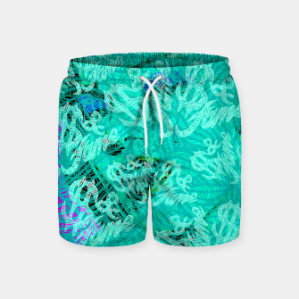 Thumbnail image of Money & Fame Swim Shorts, Live Heroes