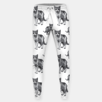 Grey room tiger Sweatpants thumbnail image