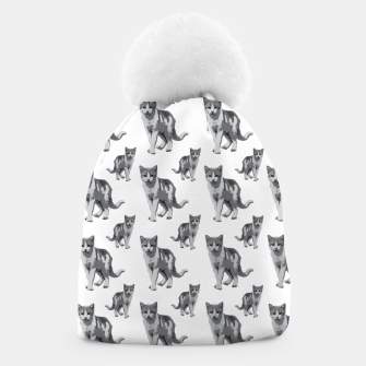 Grey room tiger Beanie thumbnail image