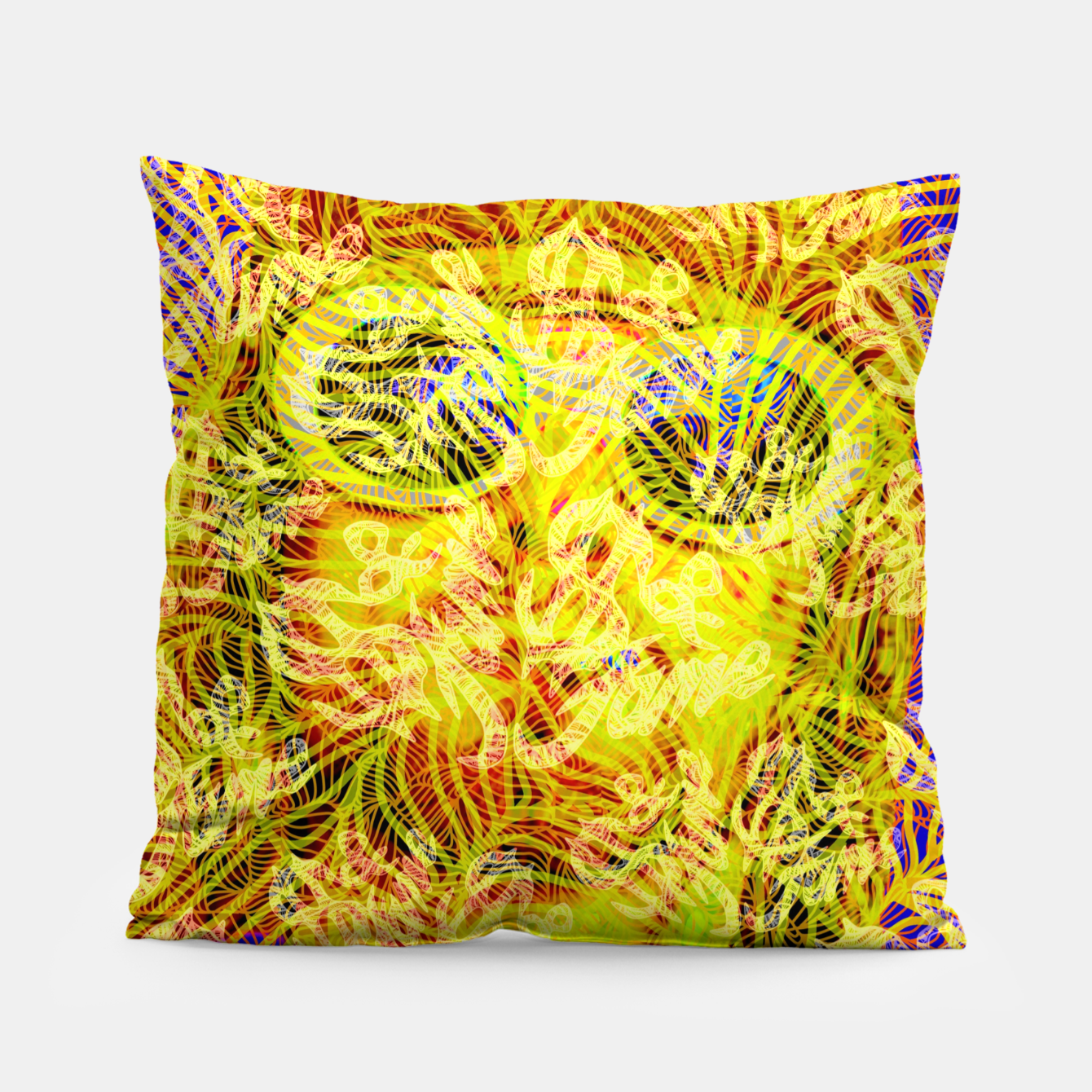 Image of Money & Fame Pillow - Live Heroes