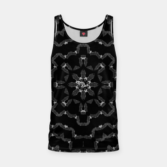 Thumbnail image of Bat skeleton * gothic flower or star Tank Top, Live Heroes