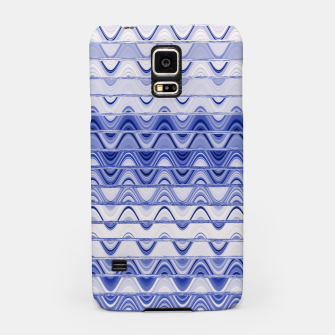 Aztec pattern in blue Samsung Case thumbnail image