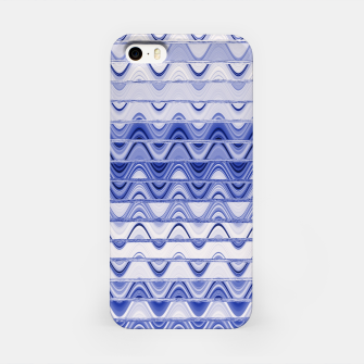 Aztec pattern in blue iPhone Case thumbnail image