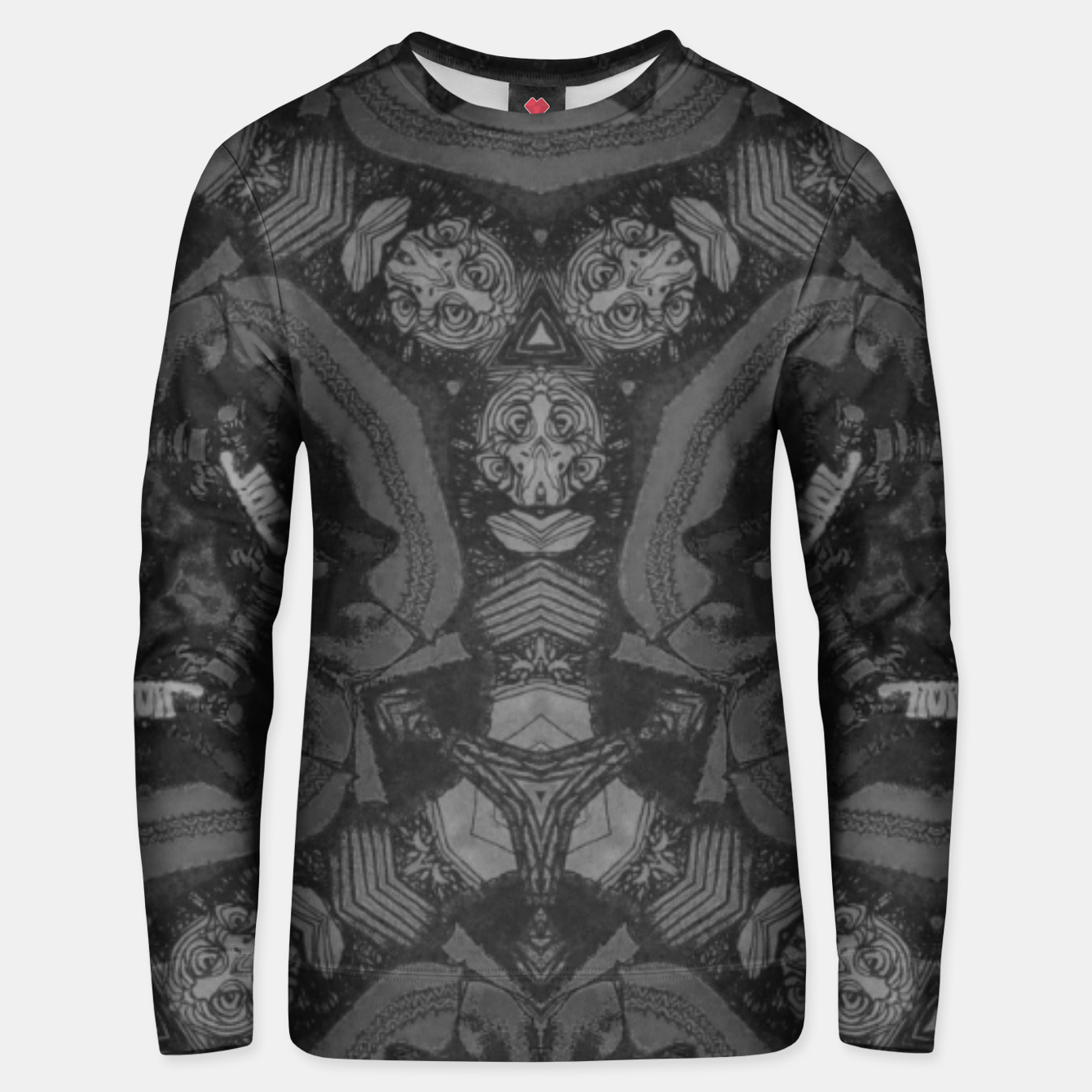 Image of vintage comics - monster detail, horror, neo gothic, pulp Unisex sweater - Live Heroes