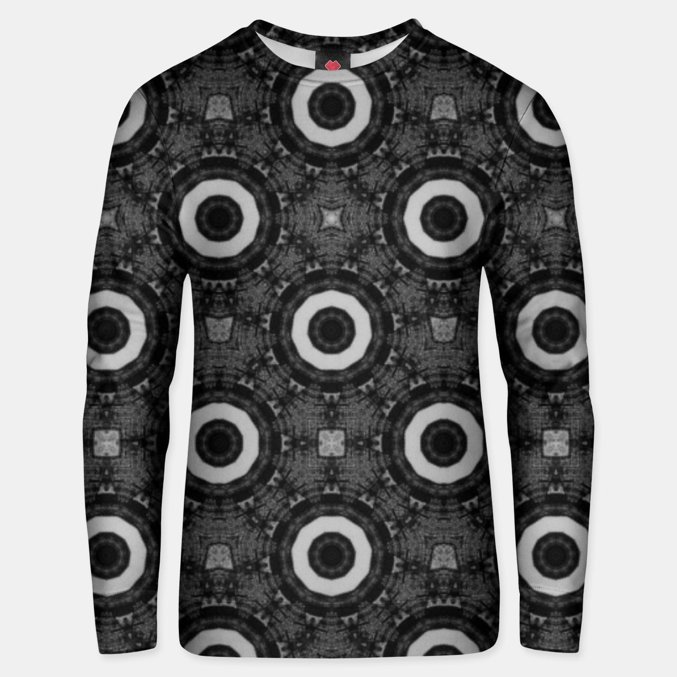 Image of Vintage circles: neo-gothic, urban, pulp comics Unisex sweater - Live Heroes