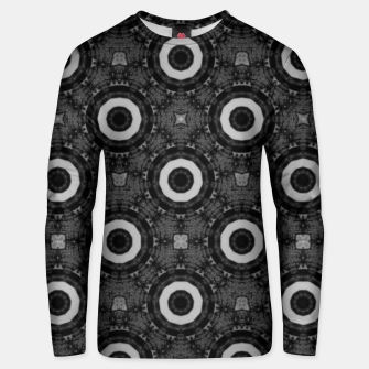 Miniaturka Vintage circles: neo-gothic, urban, pulp comics Unisex sweater, Live Heroes