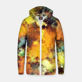 Thumbnail image of Erupt Zip up hoodie, Live Heroes