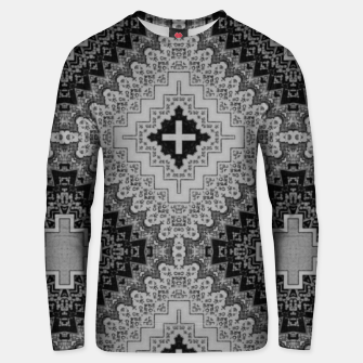 Thumbnail image of vintage comics - words, geometry, neo gothic, urban, pulp Unisex sweater, Live Heroes