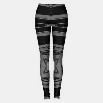 Thumbnail image of vintage comics - square, neo-gothic, urban, pulp Leggings, Live Heroes