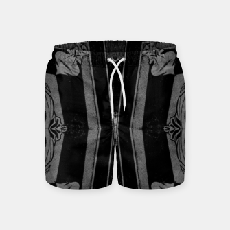 Thumbnail image of vintage comics - square, neo-gothic, urban, pulp Swim Shorts, Live Heroes