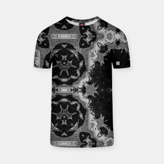 vintage comics - graphic neo gothic and industrial metal noise T-shirt thumbnail image