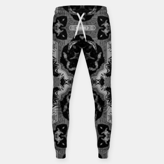 vintage comics - graphic neo gothic and industrial metal noise Sweatpants thumbnail image