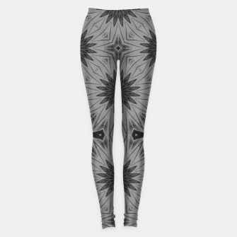 vintage comics - star, metal, industrial, geometry Leggings thumbnail image