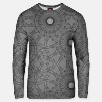 vintage comics: star pattern, neo-gothic, urban, industrial and geometric pattern Unisex sweater thumbnail image