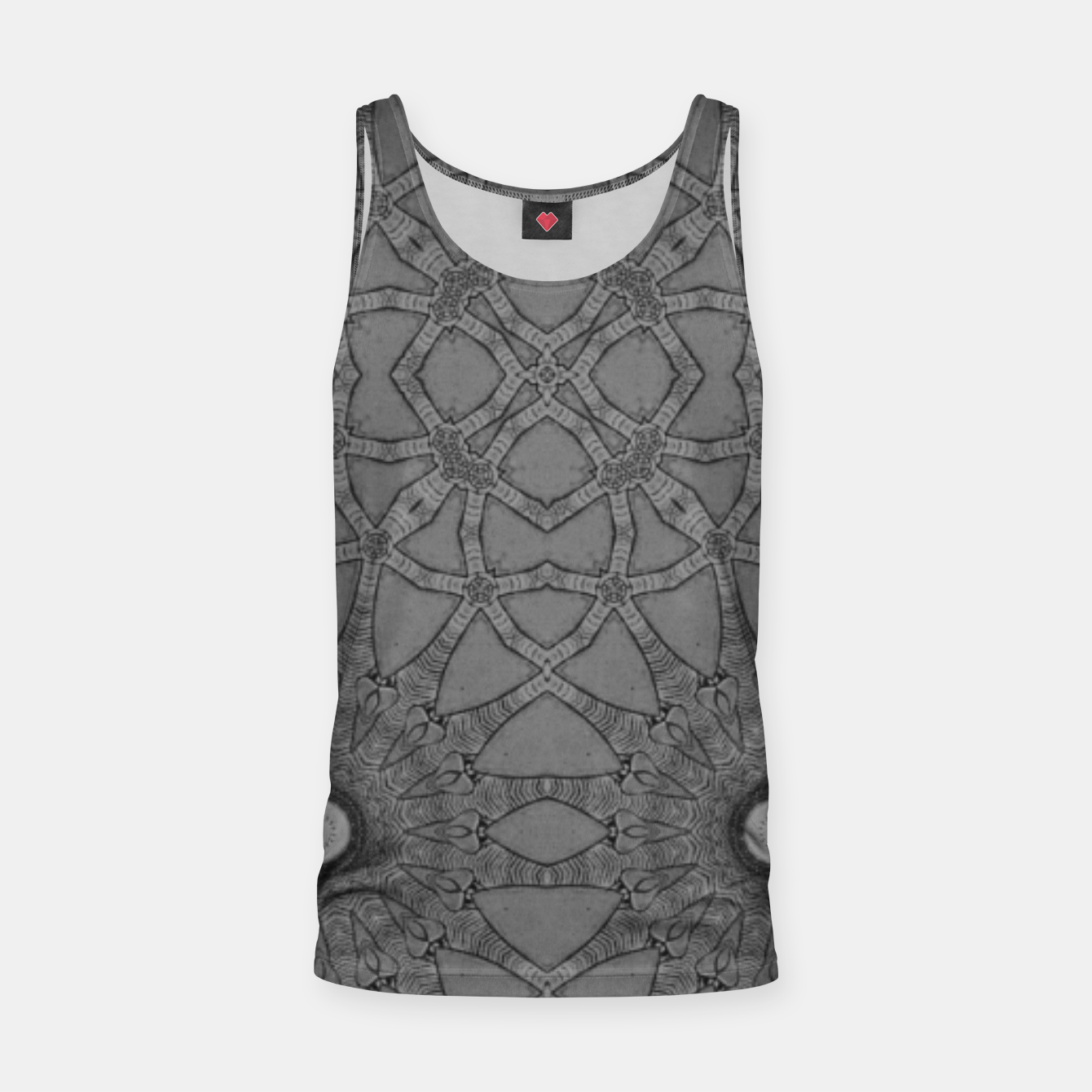 Image of vintage comics: star pattern, neo-gothic, urban, industrial and geometric pattern Tank Top - Live Heroes