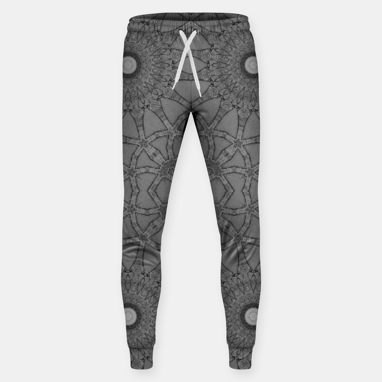 Image of vintage comics: star pattern, neo-gothic, urban, industrial and geometric pattern Sweatpants - Live Heroes
