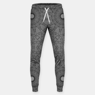 vintage comics: star pattern, neo-gothic, urban, industrial and geometric pattern Sweatpants thumbnail image