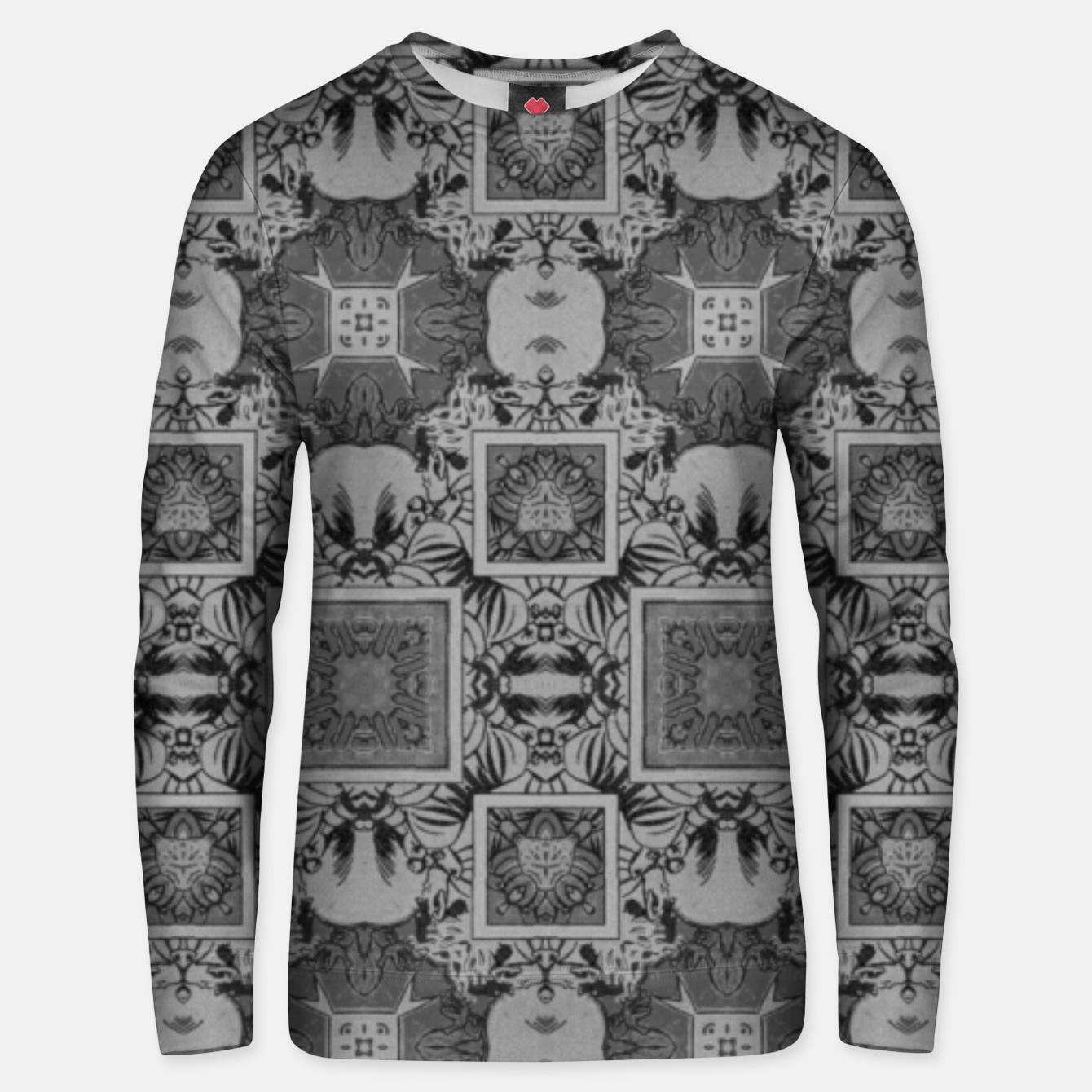 Image of vintage comics:  night geometric of pulp magazines Unisex sweater - Live Heroes