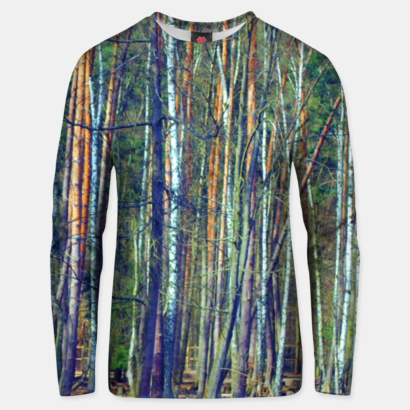 Image of Birch forest  Unisex sweater - Live Heroes
