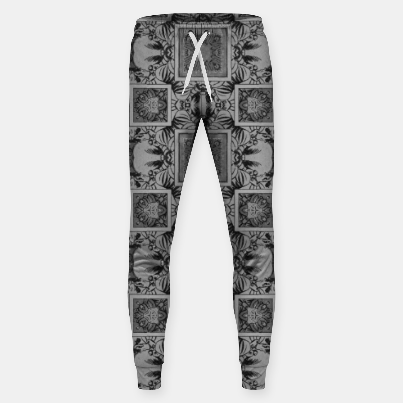 Image of vintage comics:  night geometric of pulp magazines Sweatpants - Live Heroes