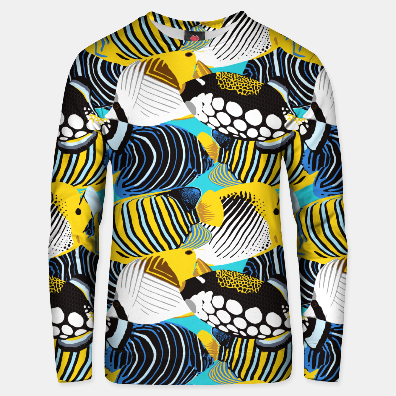 Image of Tropical Fish Unisex sweater - Live Heroes
