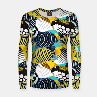Thumbnail image of Tropical Fish Women sweater, Live Heroes