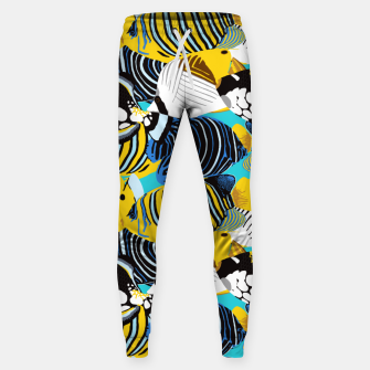Thumbnail image of Tropical Fish Sweatpants, Live Heroes