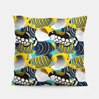 Thumbnail image of Tropical Fish Pillow, Live Heroes
