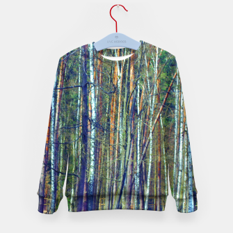 Birch forest  Kid's sweater thumbnail image