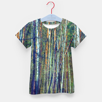 Birch forest  Kid's t-shirt thumbnail image