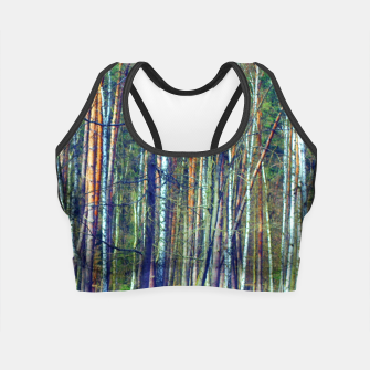 Birch forest  Crop Top thumbnail image