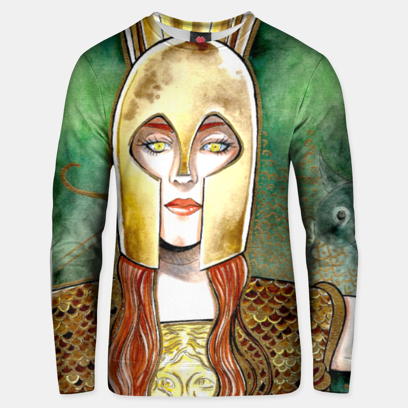Image of Girl be an Athena Unisex sweater - Live Heroes