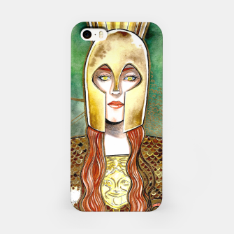 Thumbnail image of Girl be an Athena iPhone Case, Live Heroes