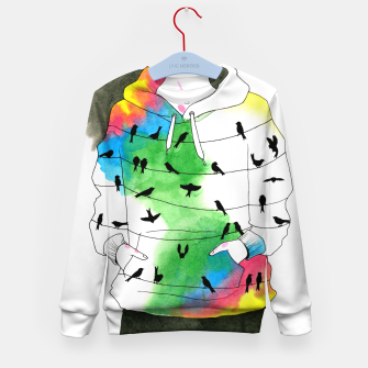 Thumbnail image of hoodie Kid's sweater, Live Heroes