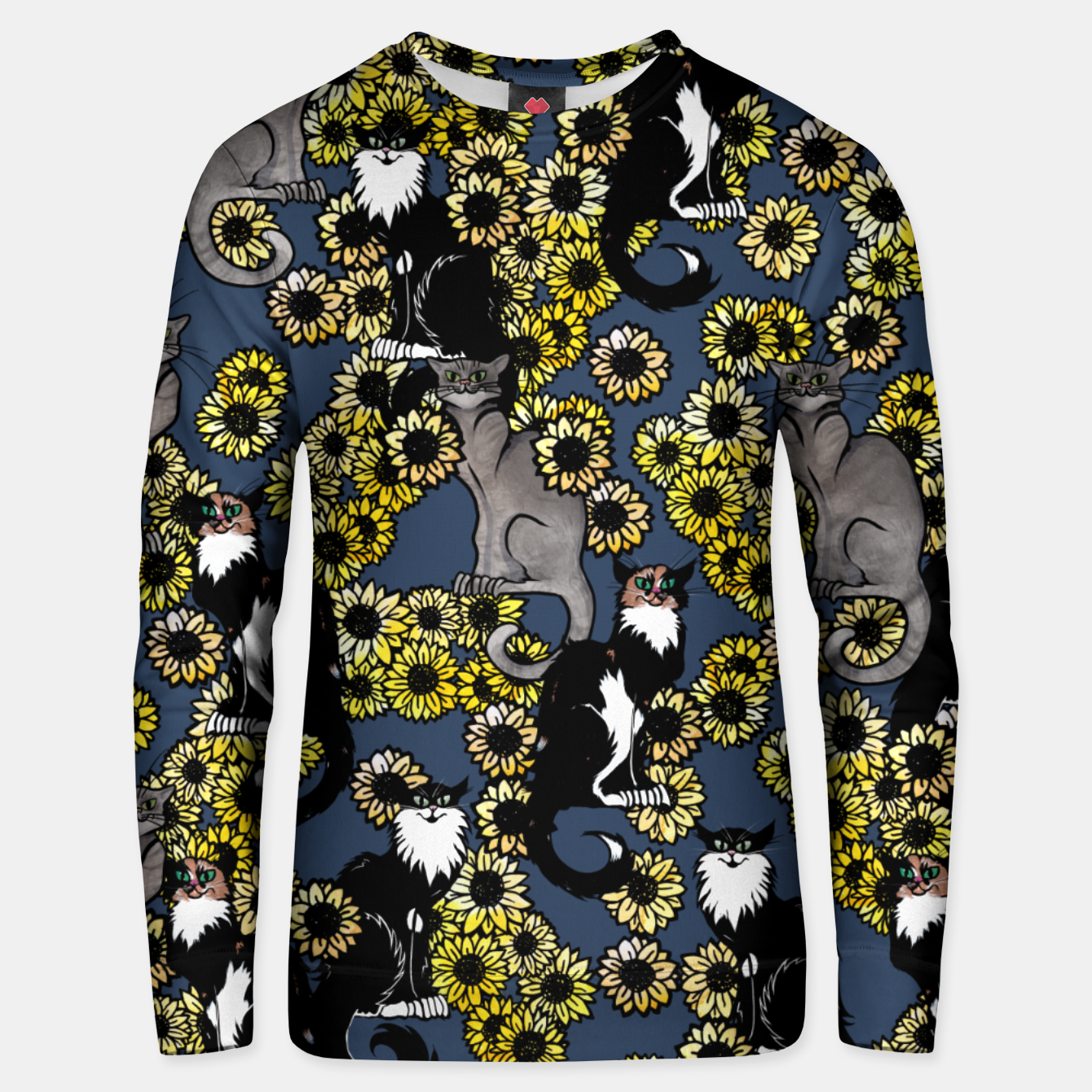 Image of Sunflower cats Unisex sweater - Live Heroes