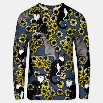 Thumbnail image of Sunflower cats Unisex sweater, Live Heroes