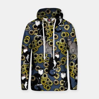 Thumbnail image of Sunflower cats Hoodie, Live Heroes