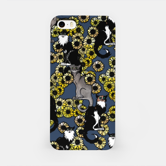 Thumbnail image of Sunflower cats iPhone Case, Live Heroes