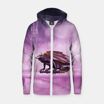 Thumbnail image of Wonderful dragon in the sky Zip up hoodie, Live Heroes