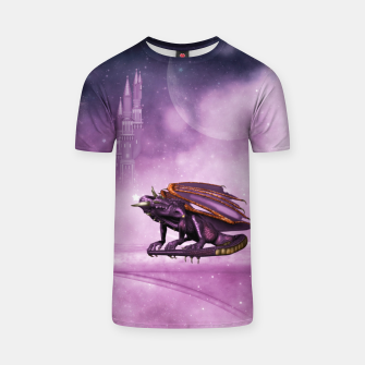 Thumbnail image of Wonderful dragon in the sky T-shirt, Live Heroes