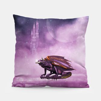 Thumbnail image of Wonderful dragon in the sky Pillow, Live Heroes