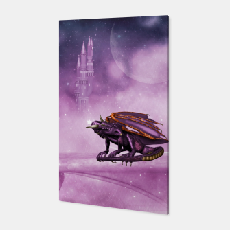 Thumbnail image of Wonderful dragon in the sky Canvas, Live Heroes