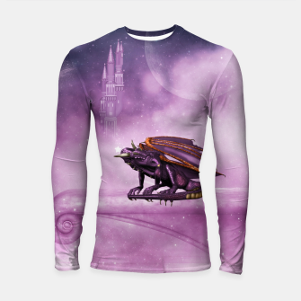 Thumbnail image of Wonderful dragon in the sky Longsleeve rashguard , Live Heroes