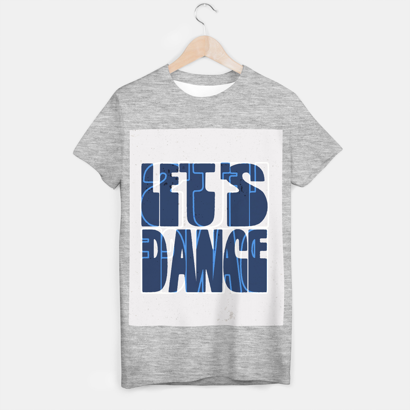 Foto Quote - let's dance T-shirt regular - Live Heroes