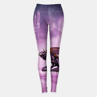 Thumbnail image of Wonderful dragon in the sky Leggings, Live Heroes