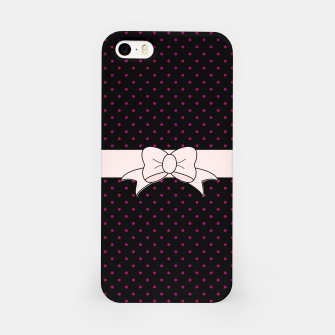 Polka Dots Bow Pattern iPhone Case thumbnail image